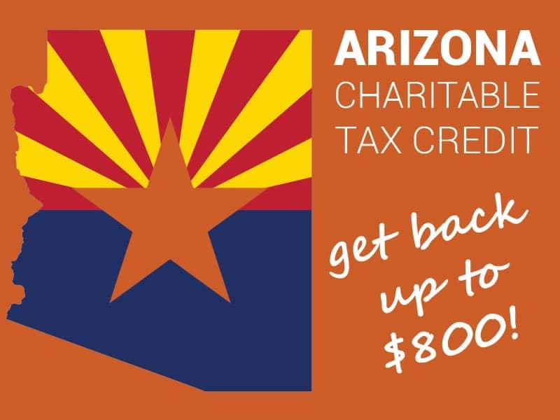 Arizona Charitable Tax Credit Donation 2020